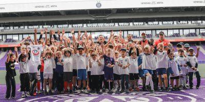Footballschool zu Besuch bei FK Austria Wien